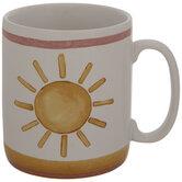 Yellow Watercolor Sun Mug