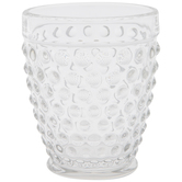 Clear Hobnail Cup