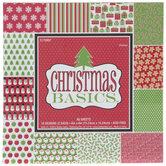 "Christmas Basics Paper Pack - 6"" x 6"""
