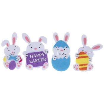 Bunny & Egg Felt Stickers