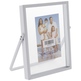 "White Metal Hinge Float Frame - 2"" x 3"""