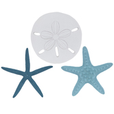 Starfish & Sand Dollar Wall Decor