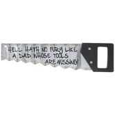 Missing Tools Hand Saw Metal Wall Decor