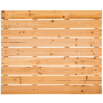 Slatted Fir Wood Panel
