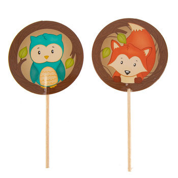 Fox & Owl Cupcake Toppers