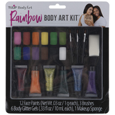 Rainbow Body Art Paint Kit