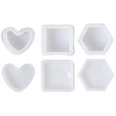 Heart, Square & Hexagon Box Resin Molds