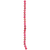Pink Imperial Jasper Bead Strand