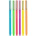 Neon Fine Pens - 6 Piece Set