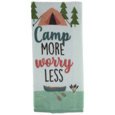 Camp More Worry Less Kitchen Towel