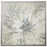 Floral Splash Canvas Wall Decor