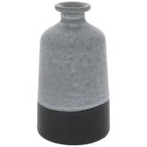 Blue Two-Tone Vase