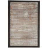 Black Stained Wood Wall Decor