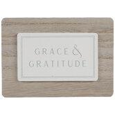 Grace & Gratitude Wood Decor