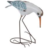 Crouching Metal Sea Bird