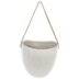 White Egg Wall Flower Pot - Large
