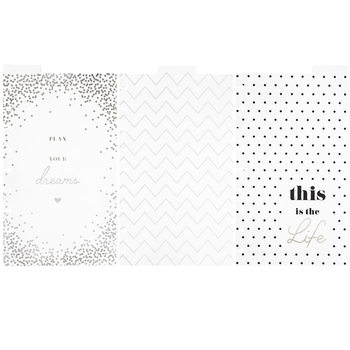Happy Planner Dashboard Dividers
