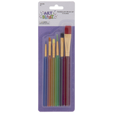 Assorted Paint Brushes - 6 Piece Set