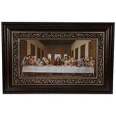Last Supper Framed Wall Decor