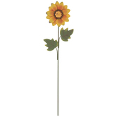 Sunflower Metal Pick