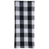 Black & White Buffalo Check Kitchen Towels