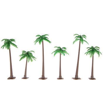 Scenic Palm Trees