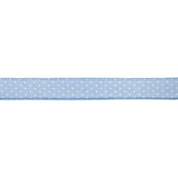 Polka Dot Wired Edge Ribbon