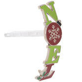 Green & Red Noel Stocking Holder