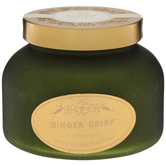 Ginger Crisp Frosted Jar Candle