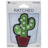 Cactus Iron-On Applique
