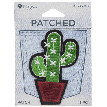 Cactus Iron-On Applique