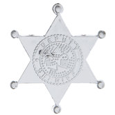 Silver Sheriff Badges