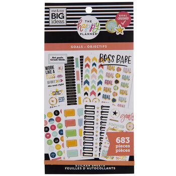 Goals Happy Planner Stickers