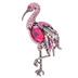 Flamingo Rhinestone Brooch