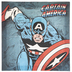 Captain America Comic Canvas Wall Decor