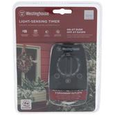 Double Outlet Light-Sensing Timer