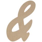 "Uppercase Script Symbol Ampersand - 6"""
