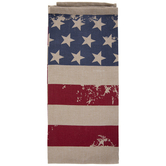 Vintage American Flag Kitchen Towel