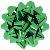 """Metallic Green Bow - 8"""""""