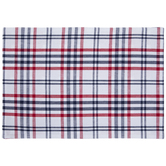 Red, White & Blue Reversible Plaid Placemats