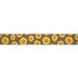 Brown Sunflowers Wired Edge Ribbon - 2 1/2