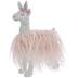White Llama With Pink Fur