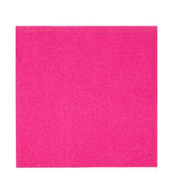 Bright Pink Napkins - Large