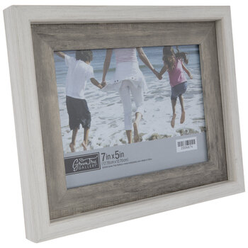 """Two-Tone Wood Look Frame - 7"""" x 5"""""""