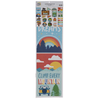 Camping Mini Bulletin Board Set