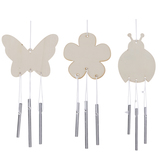 Spring Icons Wood Wind Chimes