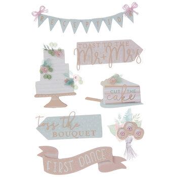 Wedding Reception 3D Stickers