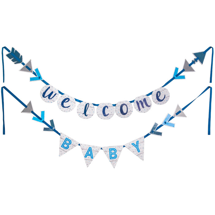 Welcome Baby Boy Banner Hobby Lobby 1544402