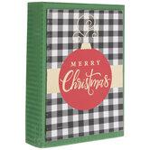 Buffalo Check & Ornament Christmas Cards