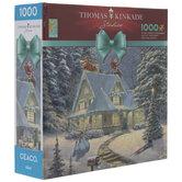 Thomas Kinkade Winter House Puzzle